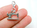 Singer Sewing Machine Charm