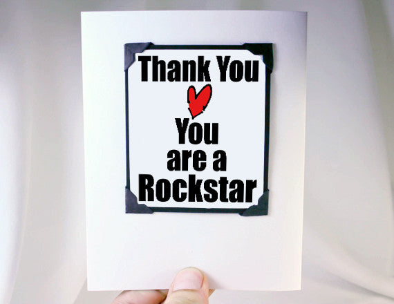 thank you magnet card fun quote