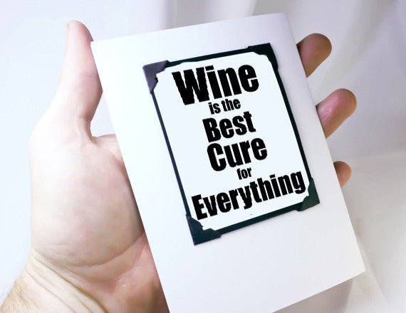 wine lover card funny card for girlfriends