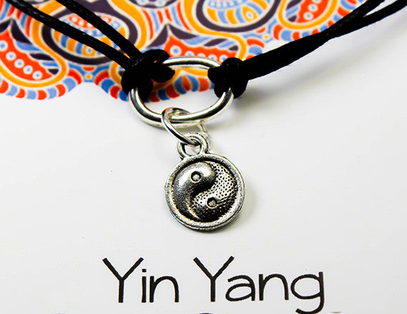 ying and yang charm bracelet