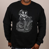 It Comes From the Beginning by Jon Langford - crewneck sweatshirt