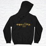 Equallity by Julio Desir - pullover hoodie
