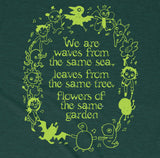 We Are Waves From The Same Sea - Heather Emerald Green
