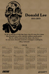 Donald Lee, Rest in Power -  2020 Calendar