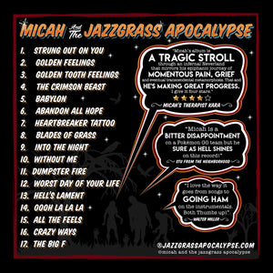 Micah and the JazzGrass Apocalypse - CD