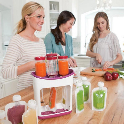 Baby Food Squeeze Station