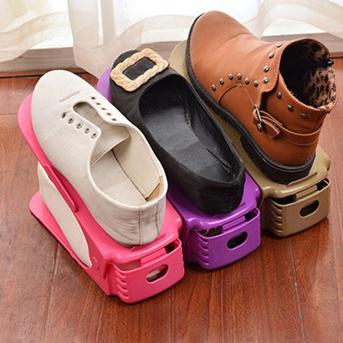 6 Piece Three-dimensional Shoe Rack