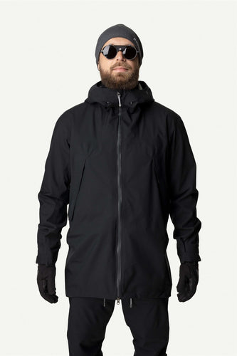 M LEEWARD JACKET TRUE BLACK