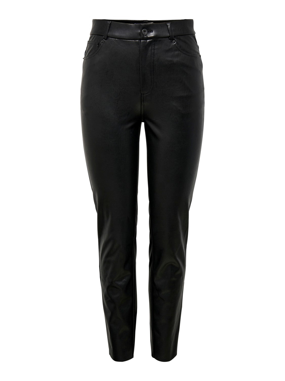 EMILY HIGH WAIST ANKEL FUAX LEATHER