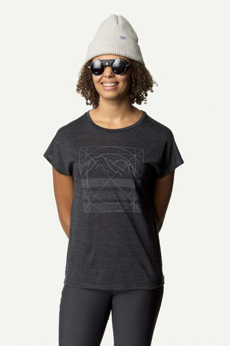 W ACTIVIST MESSAGE TEE TRUE BLACK