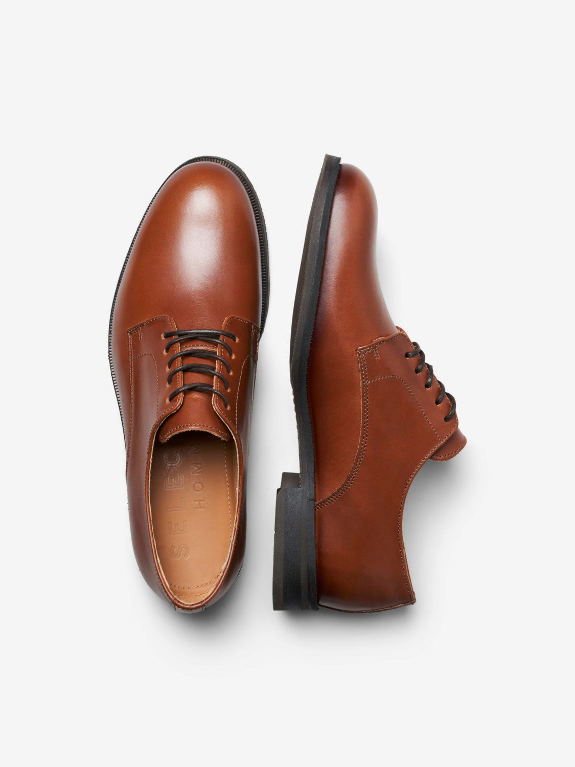 SLHLOUIS LEATHER DERBY SHOES NOOS