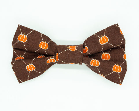 Dapper Dog Bow Tie - Pumpkins