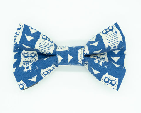 Dapper Dog Bow Tie - Curious Owl