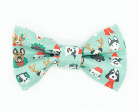Dapper Dog Bow Tie - Holiday Pups