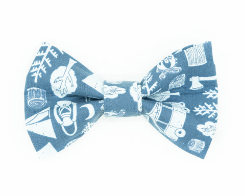 Dapper Dog Bow Tie - The Great Outdoors