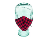 Adult Cotton Face Mask - Buffalo Plaid V2