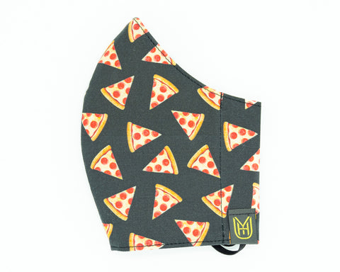 Adult Cotton Face Mask - Pizza Pizza!