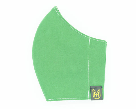 Adult Cotton Face Mask - Spring Green