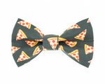 Pizza Dog Bow Tie