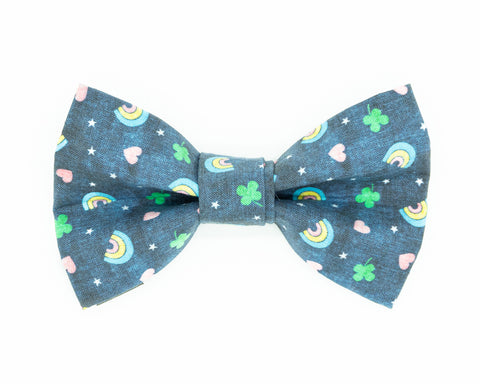 lucky charm dog bow tie cereal