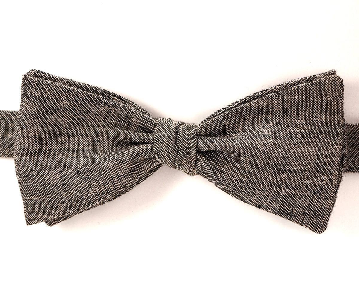 Bow Tie - Speckled Linen