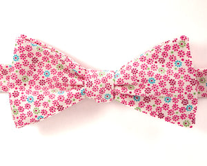 Bow Tie - Flower Dots