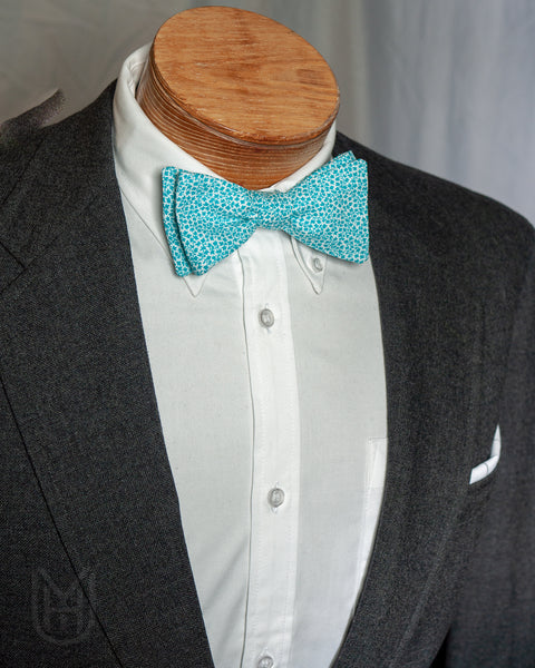 Bow Tie - Teal Ivy