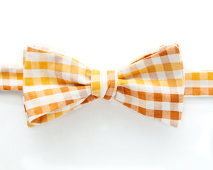 Bow Tie - Harvest Gingham