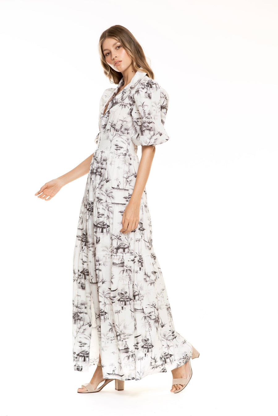TROPICO COTTON MAXI DRESS