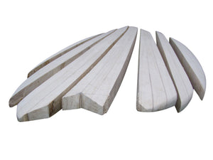 Chambered/Solid Paulownia Wood Surfboard Kit