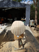 Load image into Gallery viewer, Chambered/Solid Paulownia Wood Surfboard Kit
