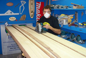 Solid Balsa Surfboard Kit