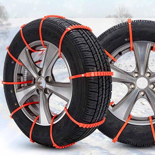 (SAVE UP TO 50%)Anti Slip Belt for Winter Roadway Snow Road Safety Climbing