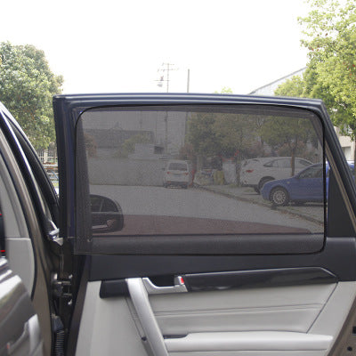 【60% OFF !!!】Universal Car Window Sun Shade Curtain