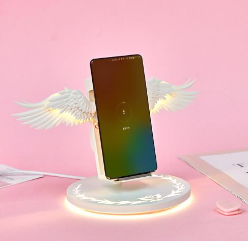 HOT SALE !!! Angel wings wireless charger