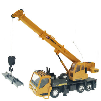【HOT SALE !!!】Remote control engineering truck crane