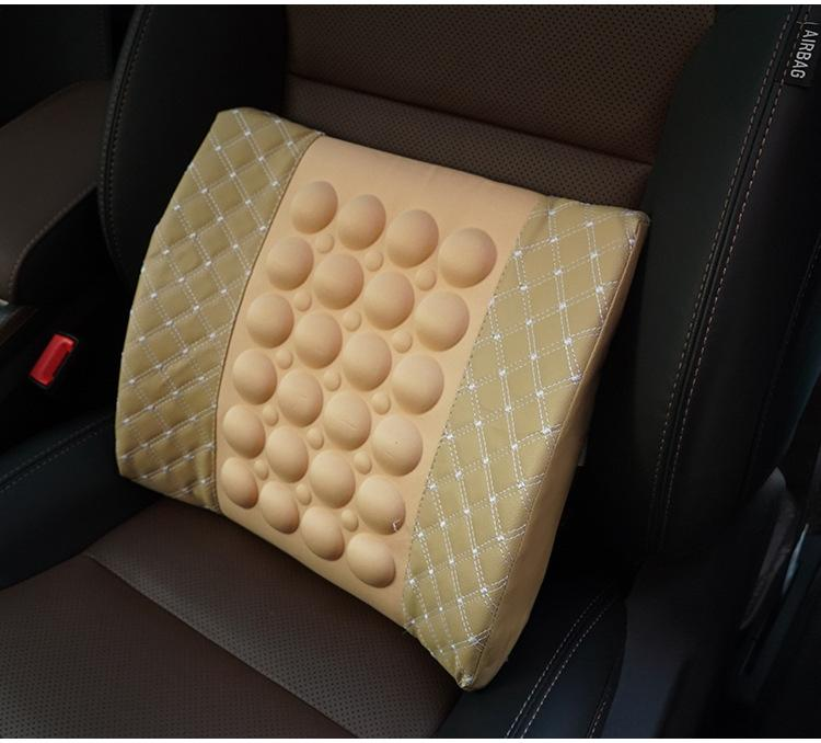 In-vehicle Back Massage Pillow - Give Your Back A Break In Car!