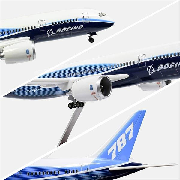 Boeing Diecast Airplane Toys | 787-10 Prototype Model Airplane