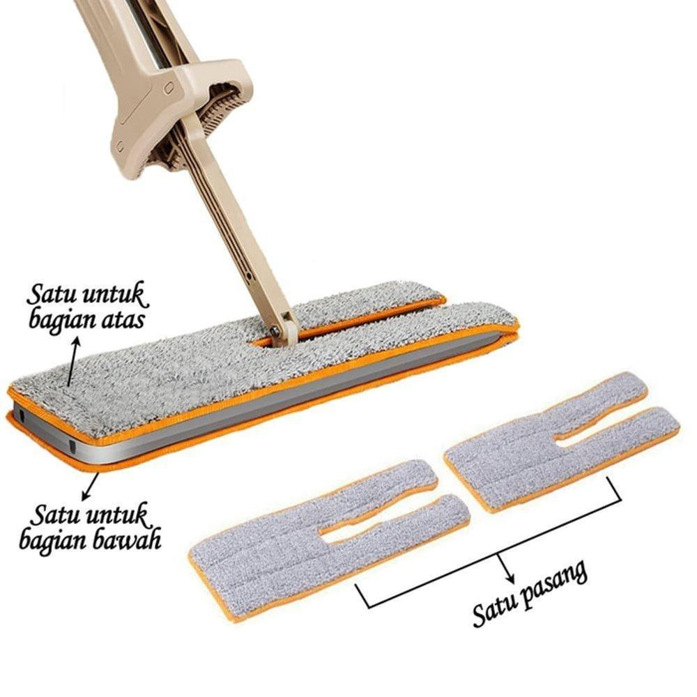 (Hot sale)Switch and Clean - Double Sided Mop