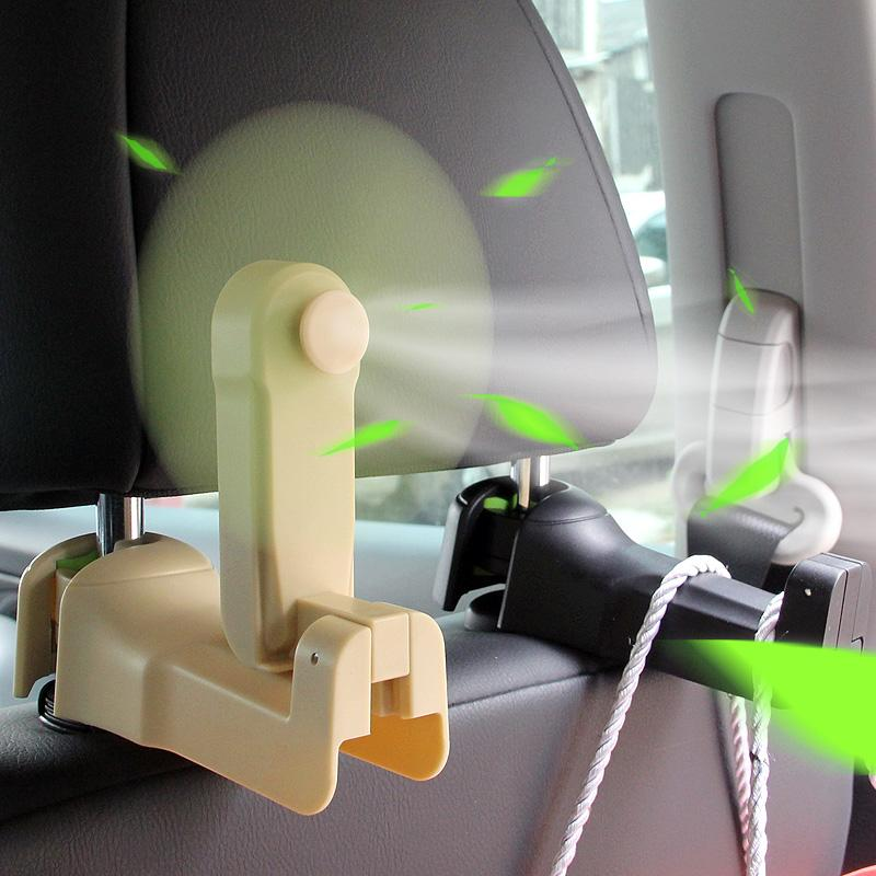 (Hot selling and Buy 3 Free Shipping)CAR HEADREST HOOK 3 IN 1