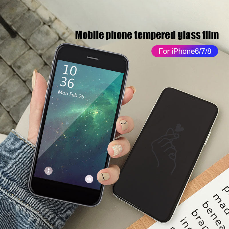 DEL Protective Film Tempered Glass Pattern Shadow
