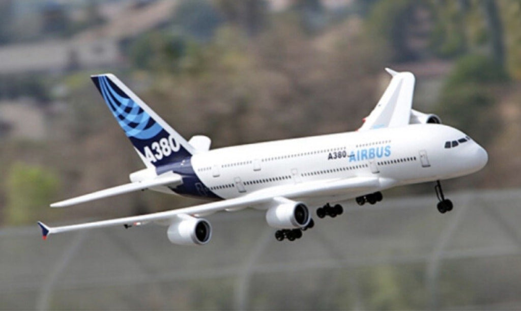 (Limited Edition Free Shipping) A380 Airbus  EPO4 ducted large aircraft