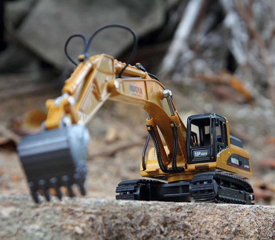 【HOT SALE !!!!,TODAY 50% OFF !!!】 Construction Vehicles Model Toy | 2019 (RC) Excavator Toy !!!!!