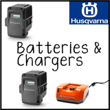husky battery and charger icon