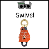 Swivel pulley