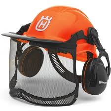 Husqvarna Forest Functional Helmet with Ratchet