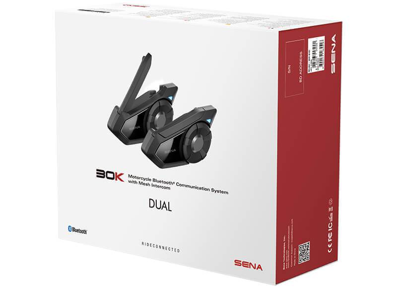 Sena 30K Bluetooth Communication System 2 PK