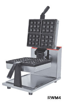 Rotary Square Waffle Maker - Everything Restaurant, India