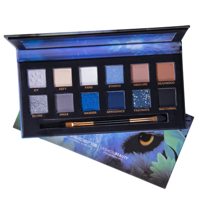 12 Color Explorer Series Eyeshadow
