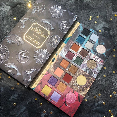 20 Colors Game Thrones Eyeshadow Palette